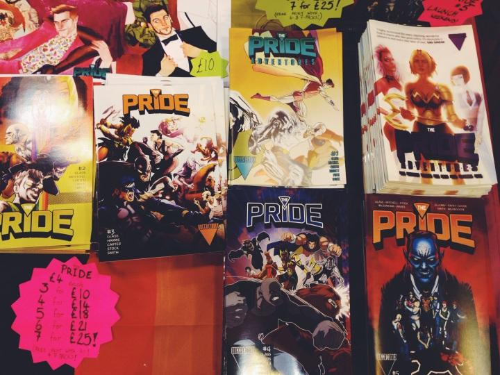 comic con cardiff stiffs comics