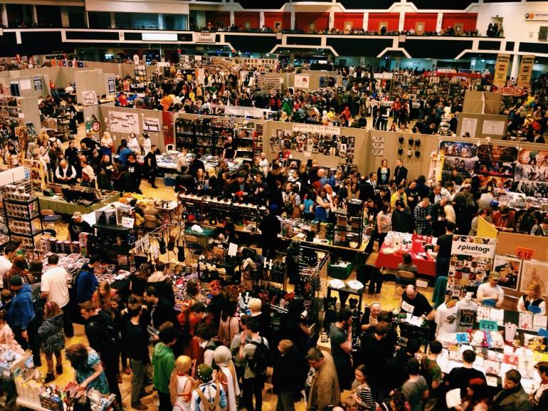 Comic Con Cardiff 2015
