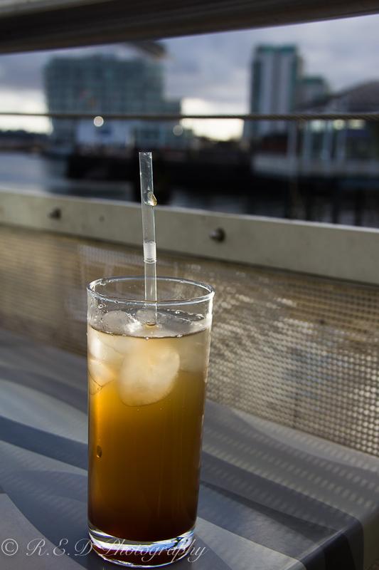 cadwaladers cardiff bay peach iced tea