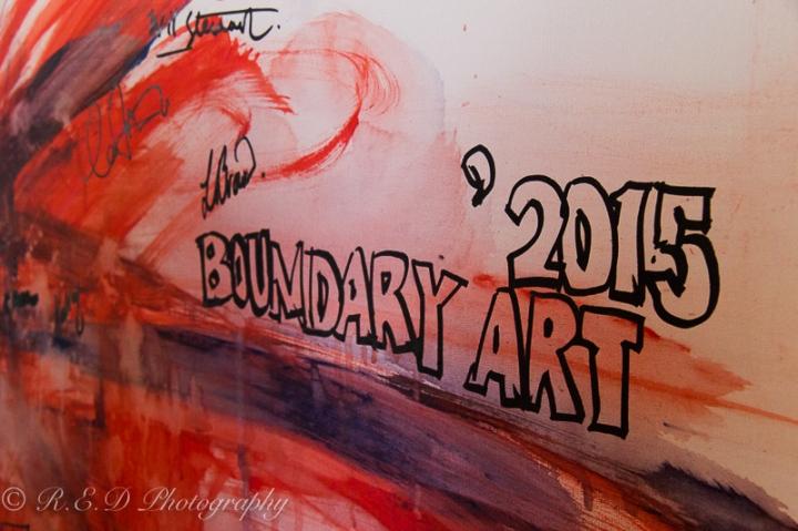 Boundary Art Gallery Opening