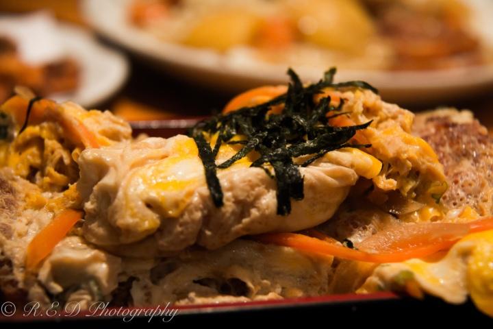 japanese restaurant taro london  pork and egg bento box