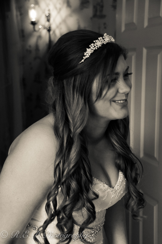 wedding photography bride portrait