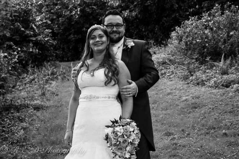 black and white wedding photography bride and groom
