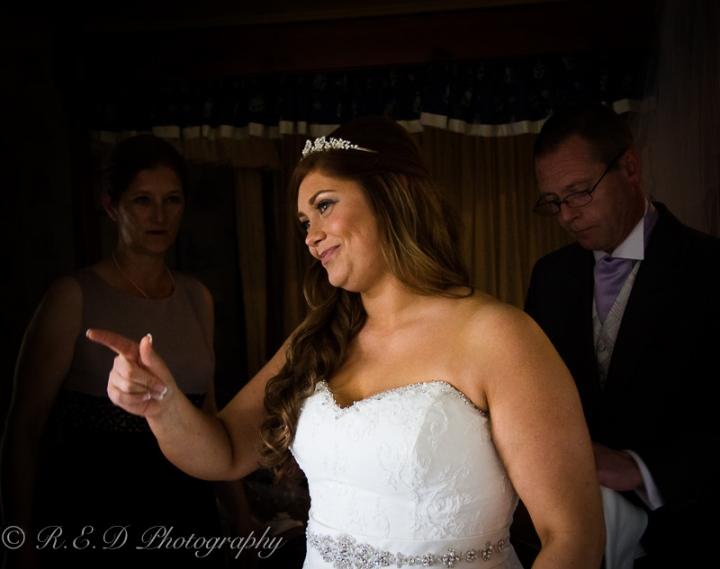 wedding photography bride ready