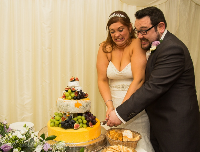 wedding photography cheese cake marks and spencer