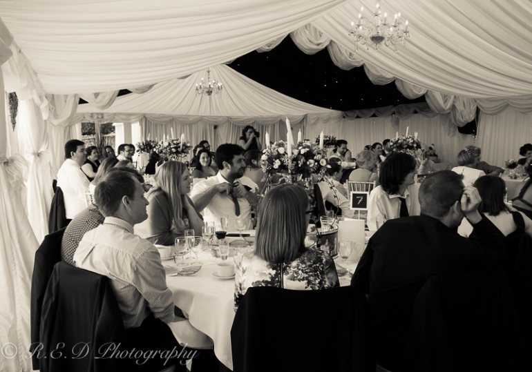 wedding photography marquee