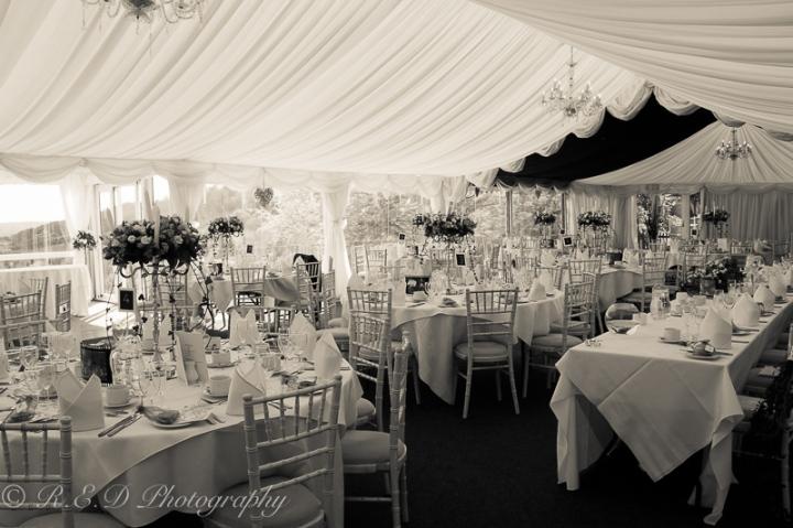 wedding photography marquee