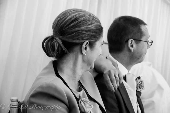 black and white wedding photography mother of the bride
