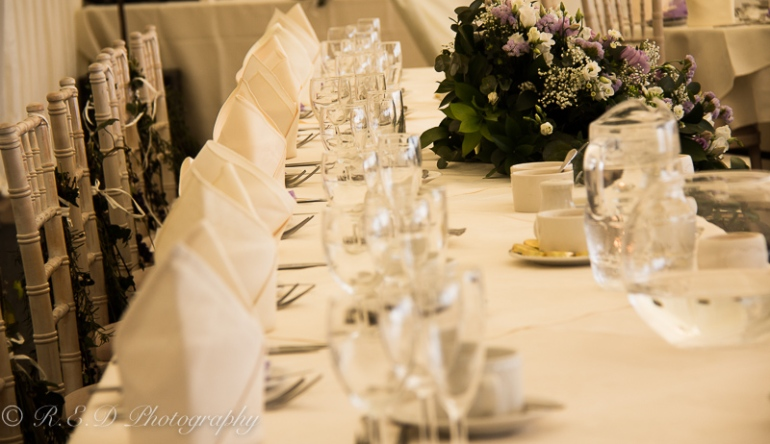wedding photography table decoration