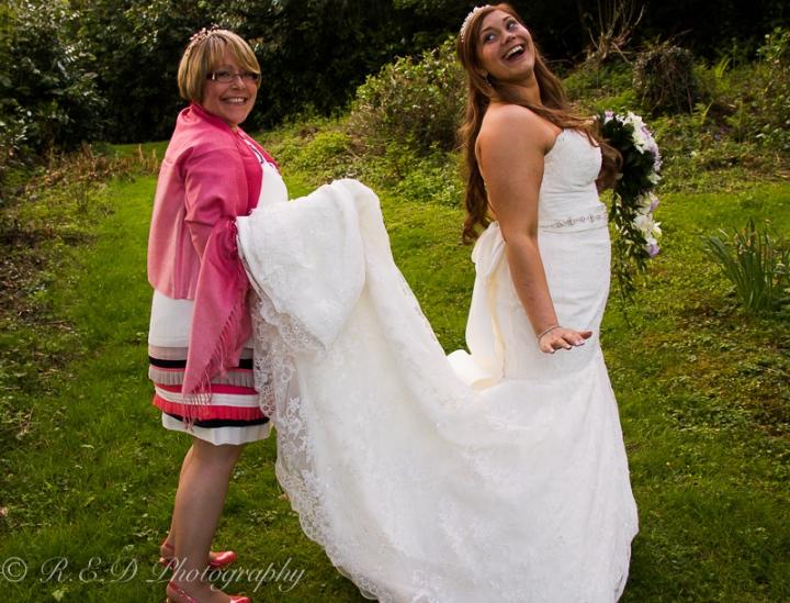 wedding photography bride and groom