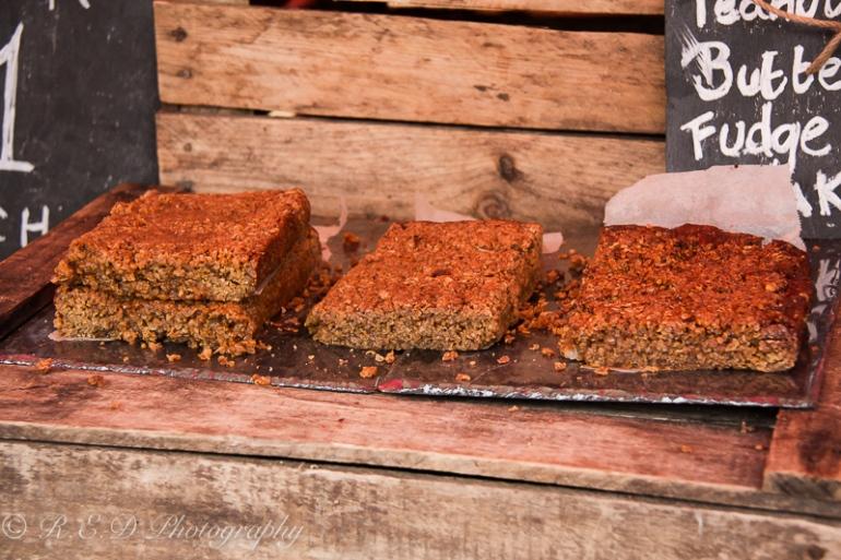 Cardiff Food Festival 2015 food porn toffee flapjacks