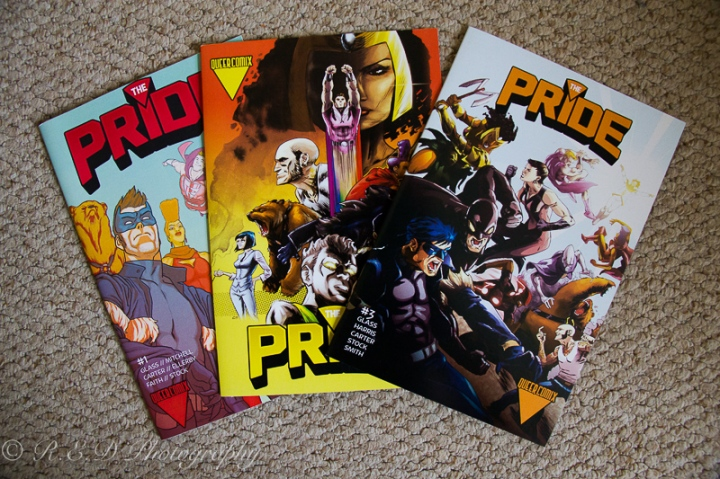 comic con 2015 the pride comics