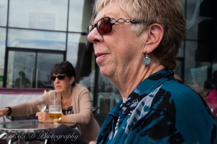 older women fashion shirt peruse