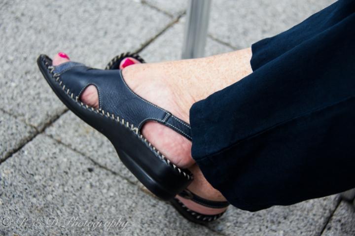 older women fashion accessorise shoes