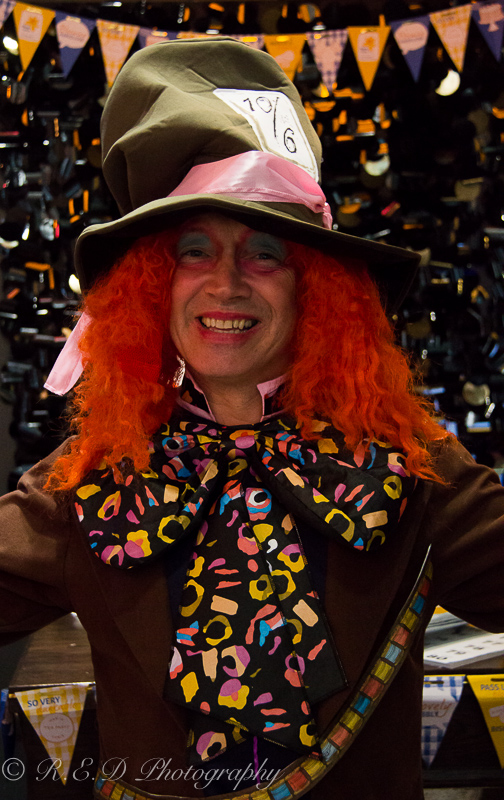 pad deco interior design charity marie curie cancer trust alice in wonderland madhatter