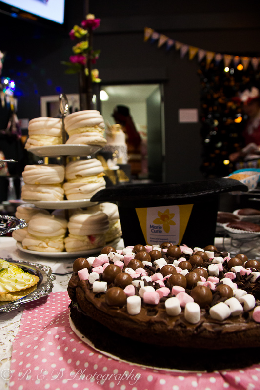 pad deco interior design charity marie curie cancer trust chocolate cake