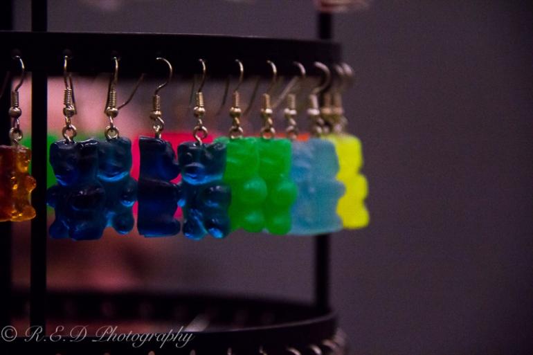 geekedfest 2015 HMBM gummy bear jewellery fashion accessory