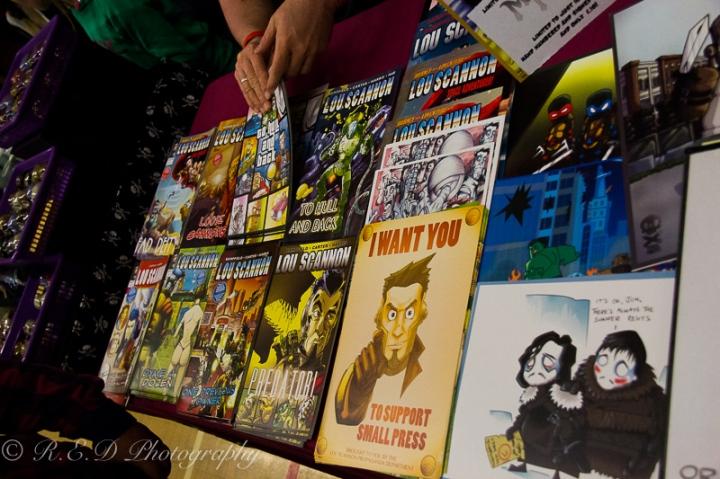 geekedfest 2015 lou scannon comic books