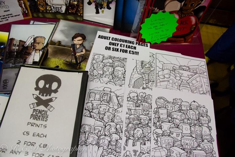 geekedfest 2015 cartoonist art