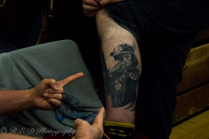 geekedfest 2015 aliens tattoo