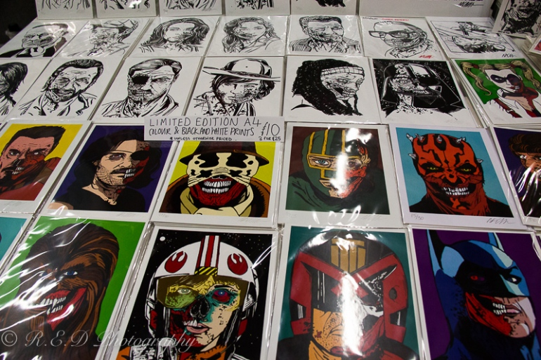 geekedfest 2015 icon painting