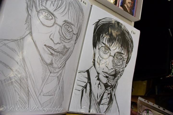 geekedfest 2015 harry potter sketch