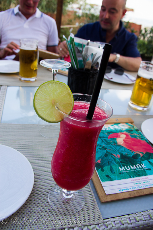 ibiza 2015 mumak restaurant strawberry daquiri