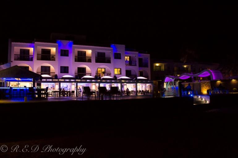 travel photography ibiza at night