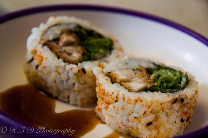 food blog post rhidixonblog lifestyle blogger spicy chicken roll yo sushi