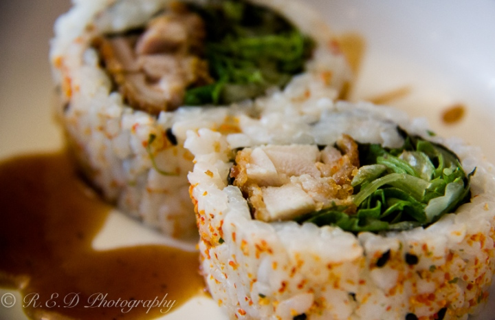 food blog post rhidixonblog lifestyle blogger spicy chicken roll