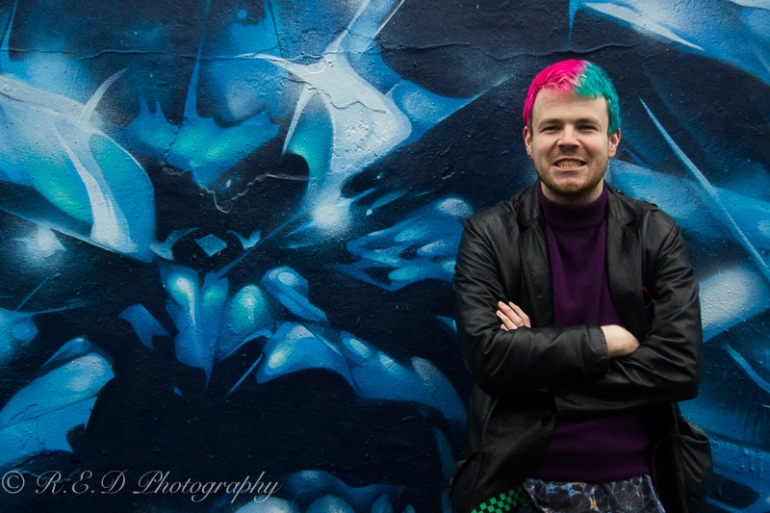 rhidixonblog lifestyle blogger manic panic hair dye