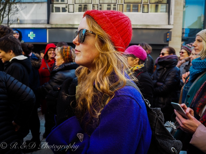 rhidixonblog lifestyle blogger women's march