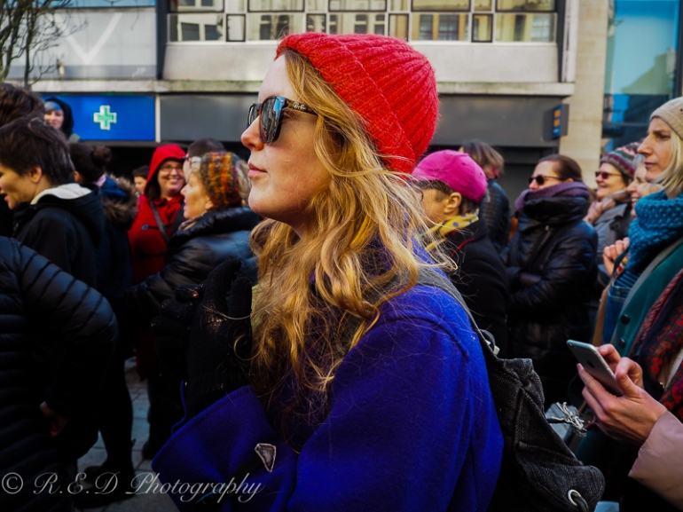 rhidixonblog lifestyle blogger women's march