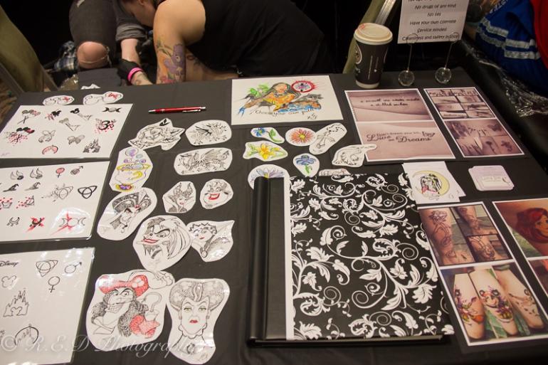 rhidixonblog lifestyle blogger international tattoo convention